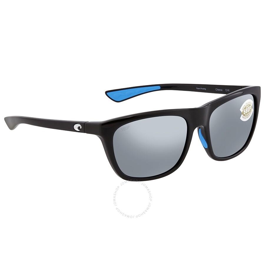 4506ae66fbba Costa Del Mar Cheeca Gray Silver Mirror 580P Polarized Rectangular Ladies  Sunglasses CHA 11 OSGP Item No. CHA 11 OSGP