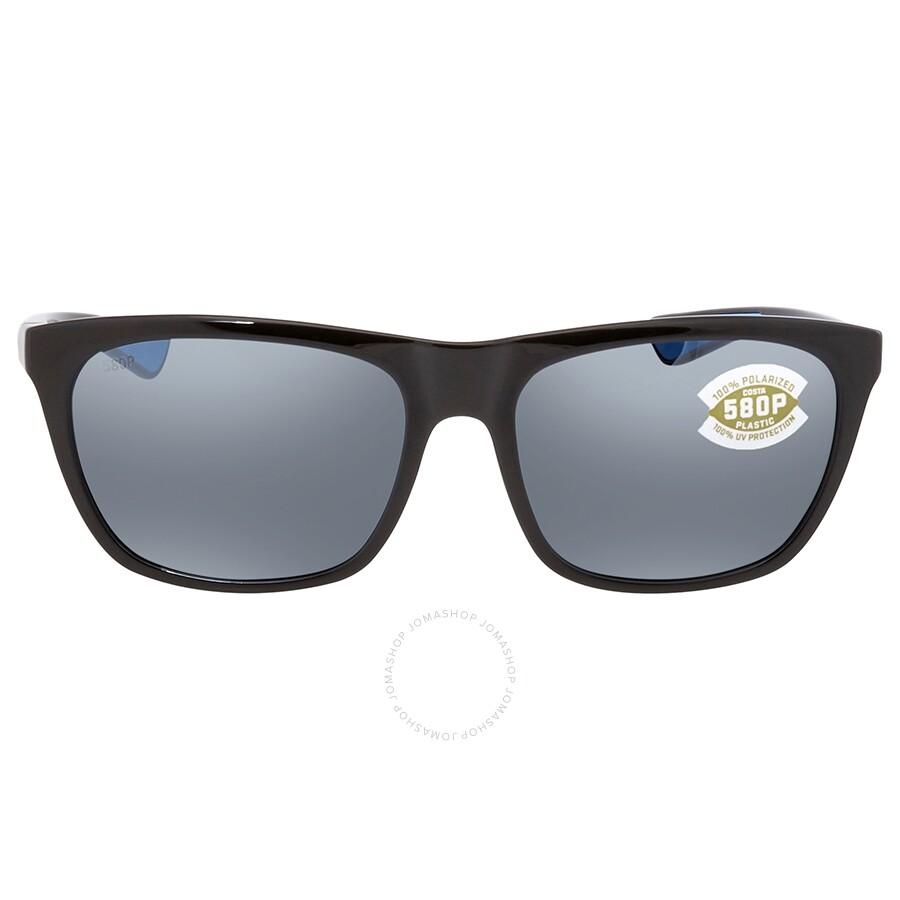 16494f33e2c1 ... Costa Del Mar Cheeca Gray Silver Mirror 580P Polarized Rectangular  Ladies Sunglasses CHA 11 OSGP ...