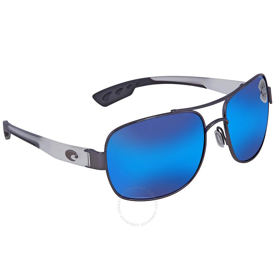 91452b1e670e Costa Del Mar Cocos Blue Mirror 580P Aviator Men's Sunglasses CC 74 OBMGLP  Item No. CC 74 OBMGLP