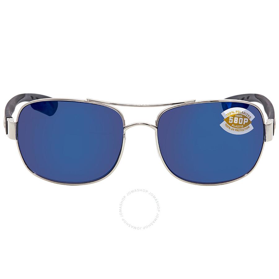 796e2af3d394f ... Costa Del Mar Cocos Blue Mirror 580P Aviator Sunglasses CC 21 OBMP ...