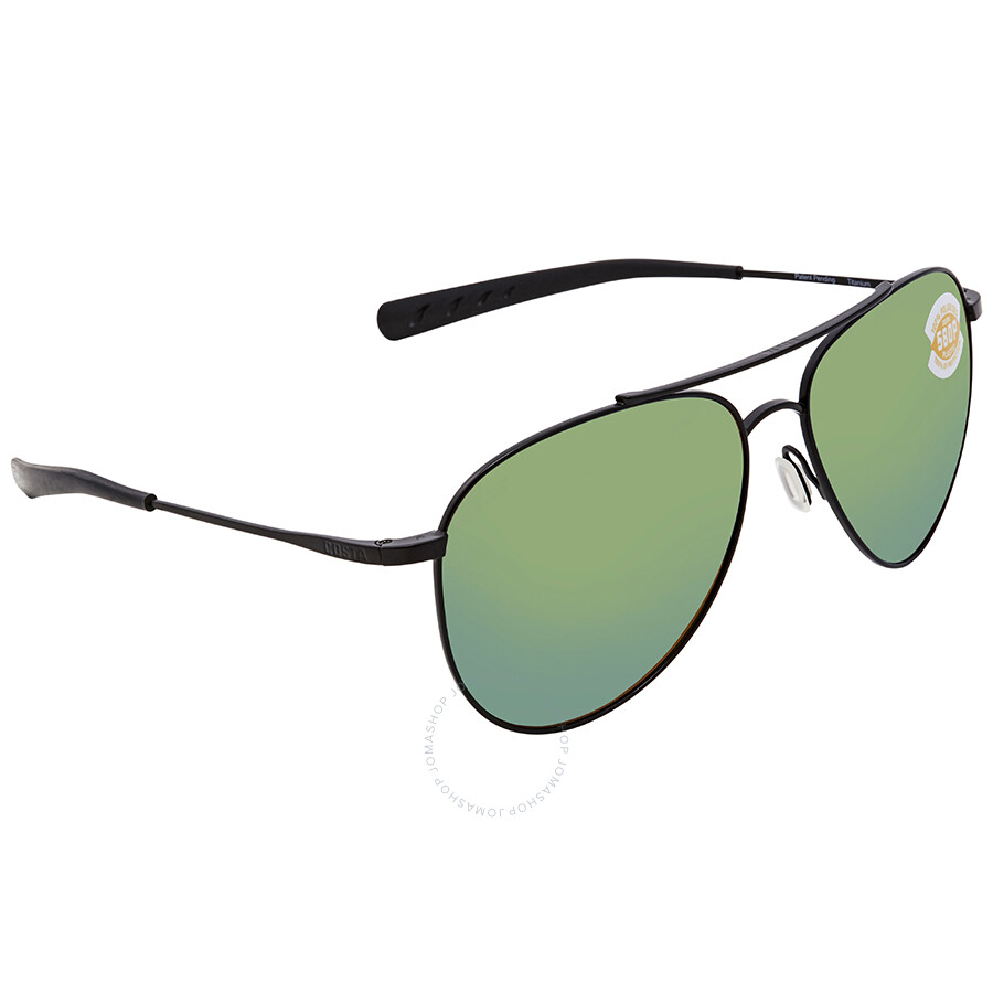 e93572e951 Costa Del Mar Cook Green Mirror 580P Aviator Sunglasses COO 101 OGMP Item  No. COO 101 OGMP