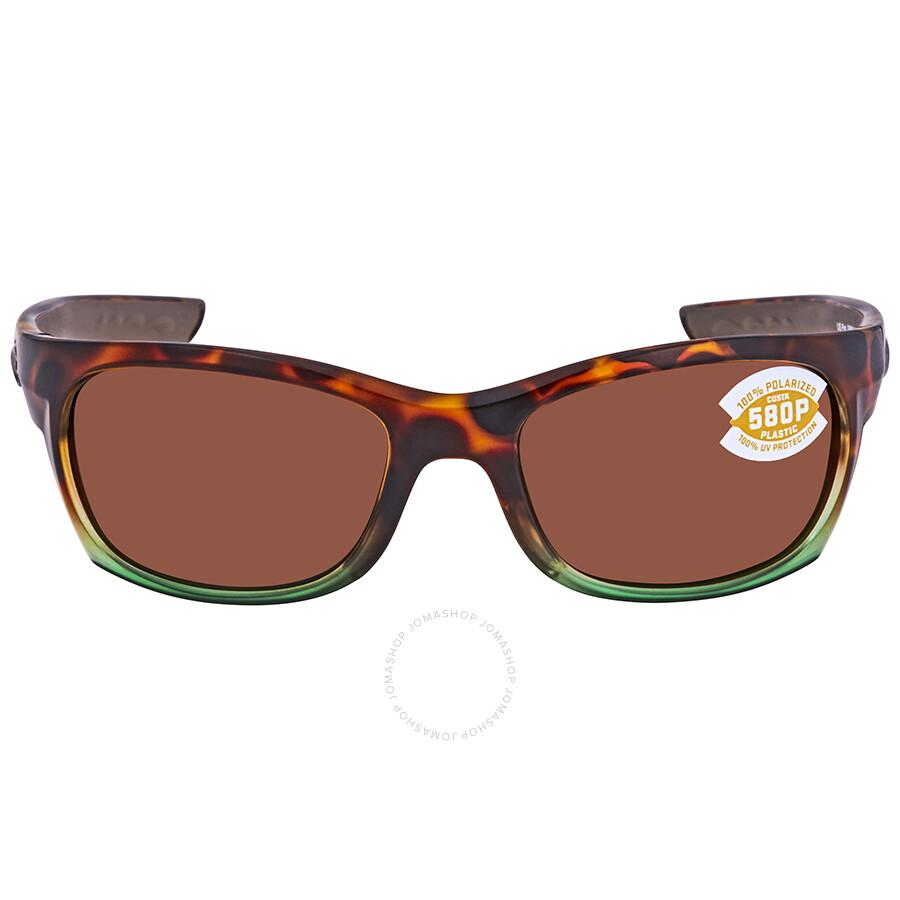 d41376713f Costa Del Mar Copper 580P Rectangular Sunglasses GT 77 OCP - Costa ...