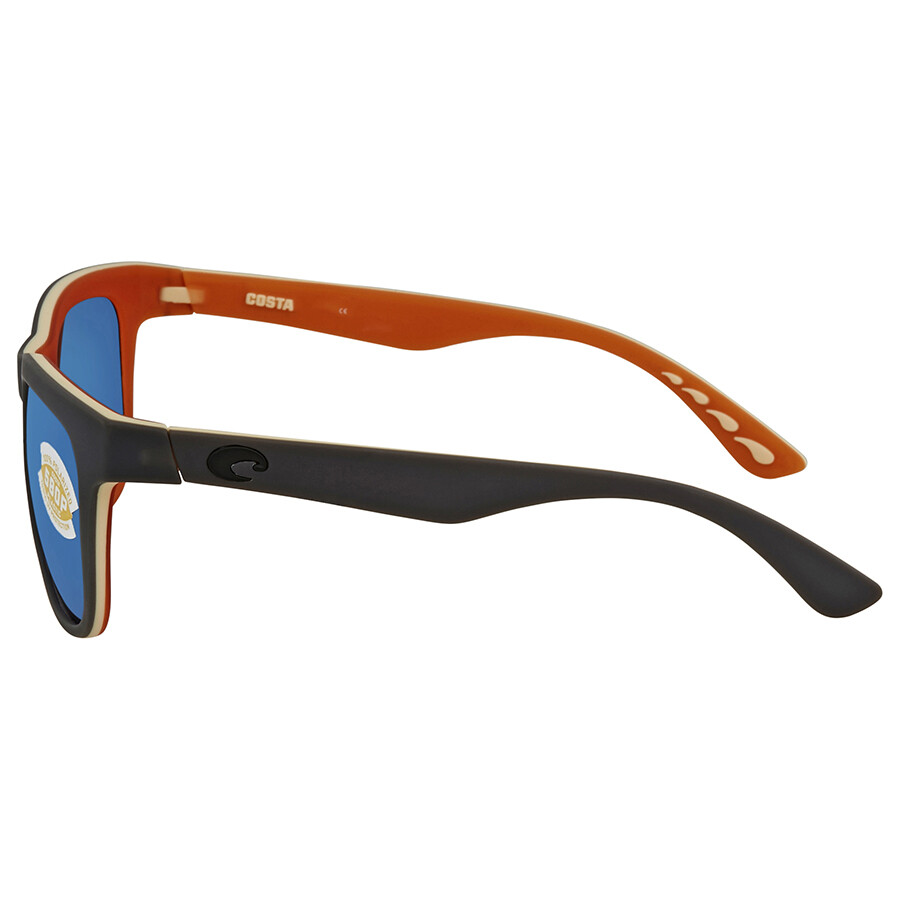 951d2c92e7 Costa Del Mar Copra Blue Mirror 580P Square Sunglasses COP 102 OBMP ...