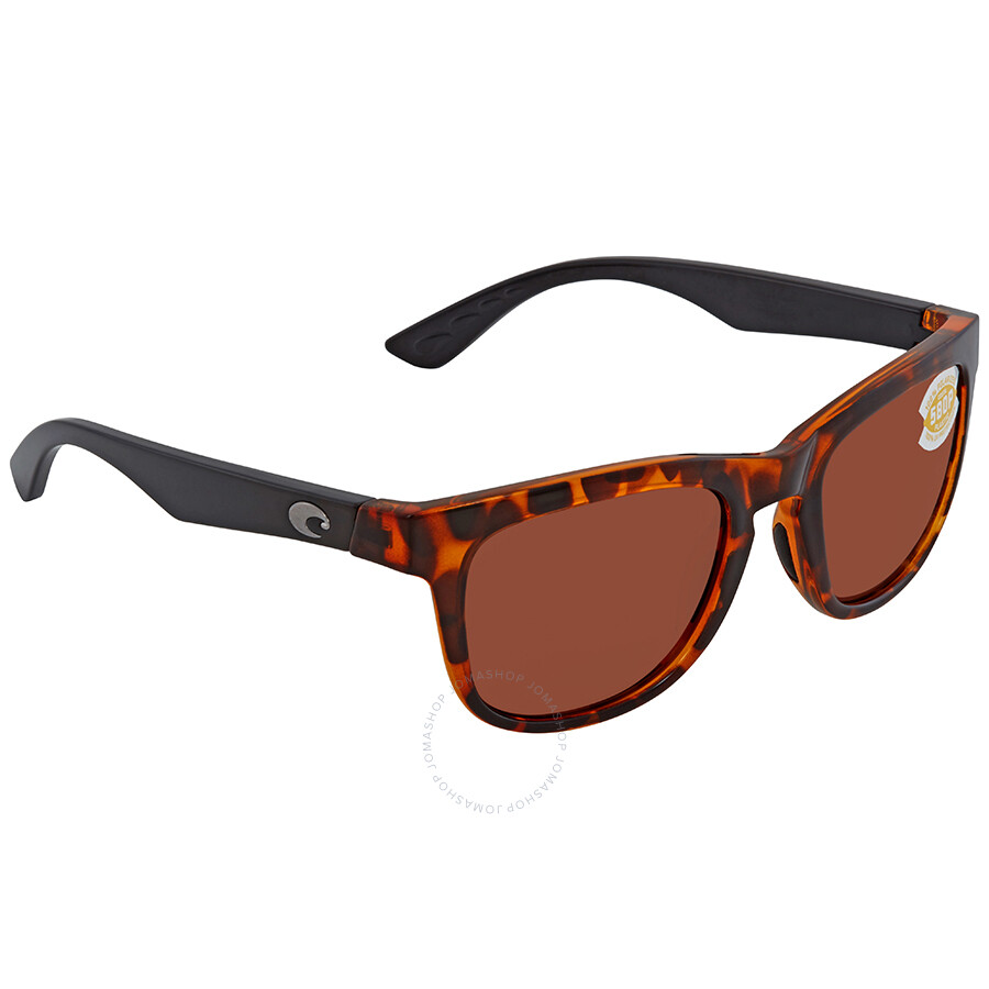 433d410fa0e3 Costa Del Mar Copra Copper Polarized Plastic Square Sunglasses COP 76 OCP  Item No. COP 76 OCP