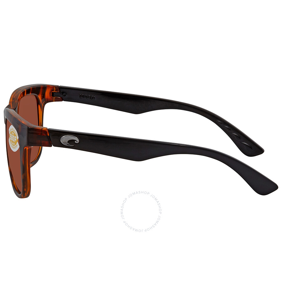 735c6f2345f6 ... Costa Del Mar Copra Copper Polarized Plastic Square Sunglasses COP 76  OCP