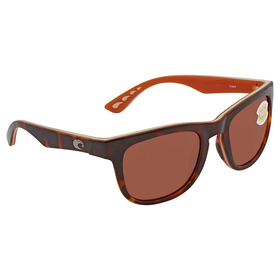 c8f05fd77a Costa Del Mar Copra Brown Square Sunglasses COP 106 OCP - Costa Del ...