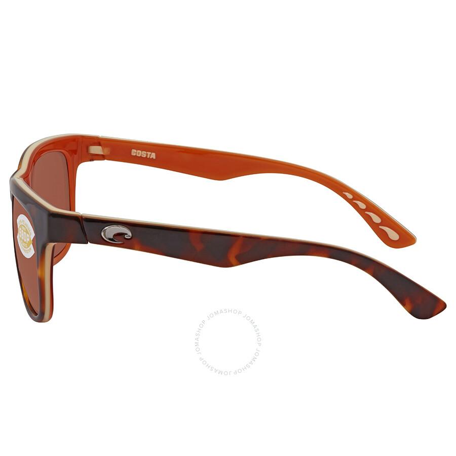 acc8fd6be1 Costa Del Mar Copra Brown Square Sunglasses COP 106 OCP - Costa Del ...