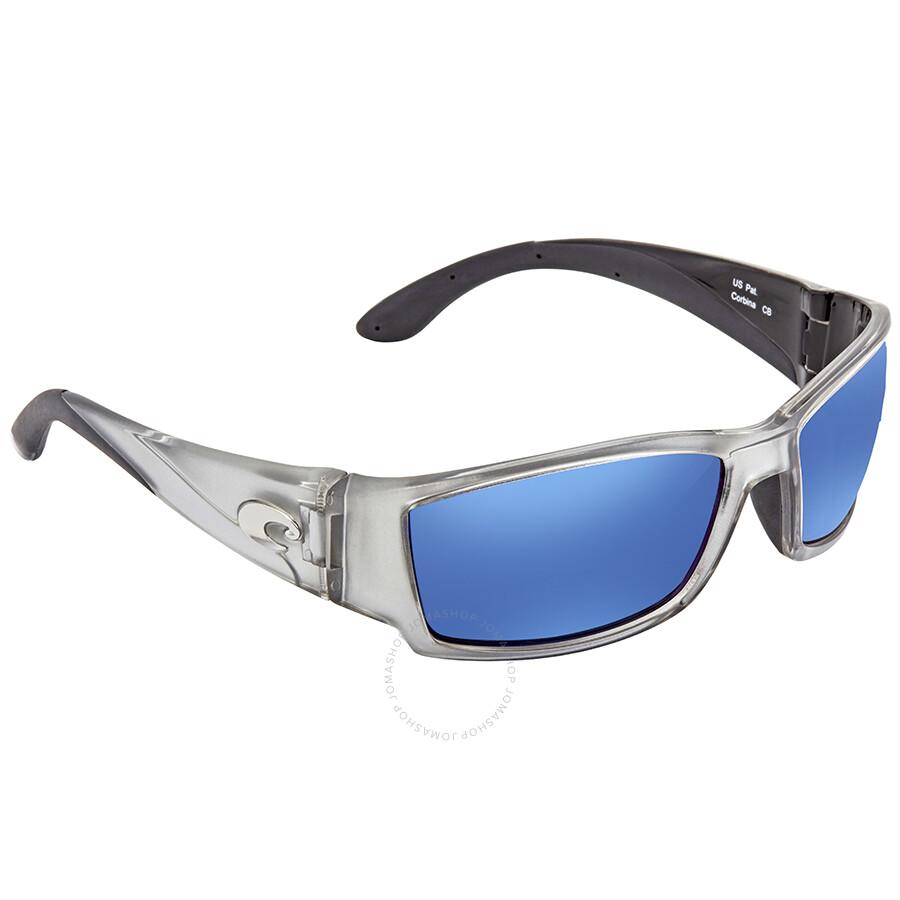 f2d4d0ff33 Costa Del Mar Corbina Blue Mirror 580P Wrap Sunglasses CB 18 OBMP Item No.  CB 18 OBMP. Spring Sale