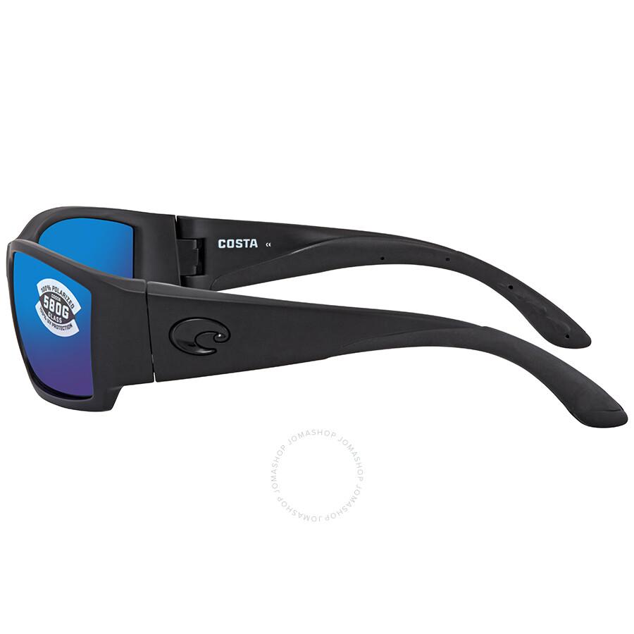 0836daac6c3b5 ... Costa Del Mar Corbina Blue Mirror Polarized Glass Large Fit Sunglasses  CB 01 OBMGLP