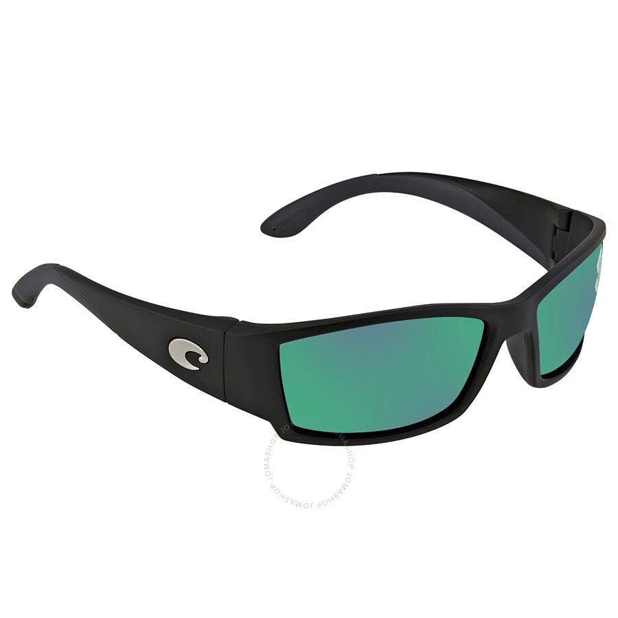 8f74f853db Costa Del Mar Corbina Green Mirror Polarized Glass Large Fit Sunglasses CB  11 OGMGLP ...