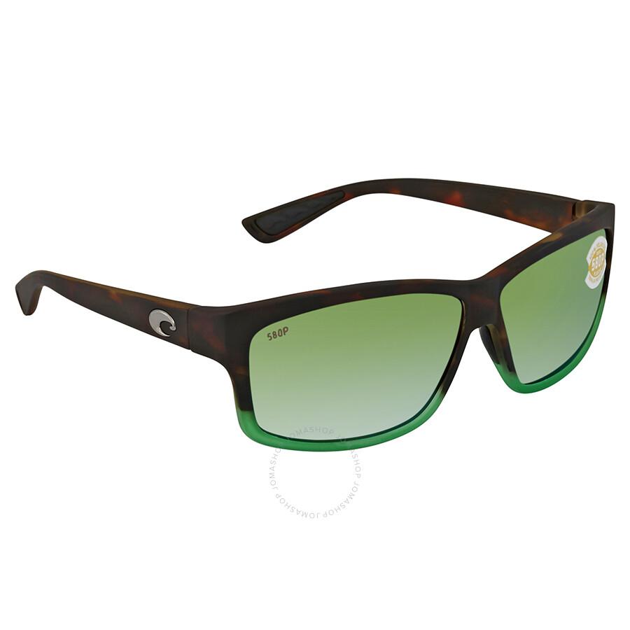 1b5000bdc997c ... Costa Del Mar Cut Green Mirror Polarized Plastic Rectangular Sunglasses  UT 77 OGMP ...