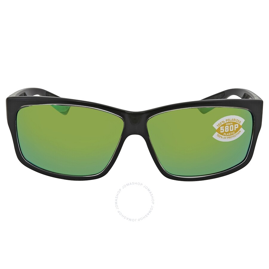 365759ea8ee16 ... Costa Del Mar Cut Green Mirror Polarized Plastic Square Sunglasses UT  47 OGMP ...
