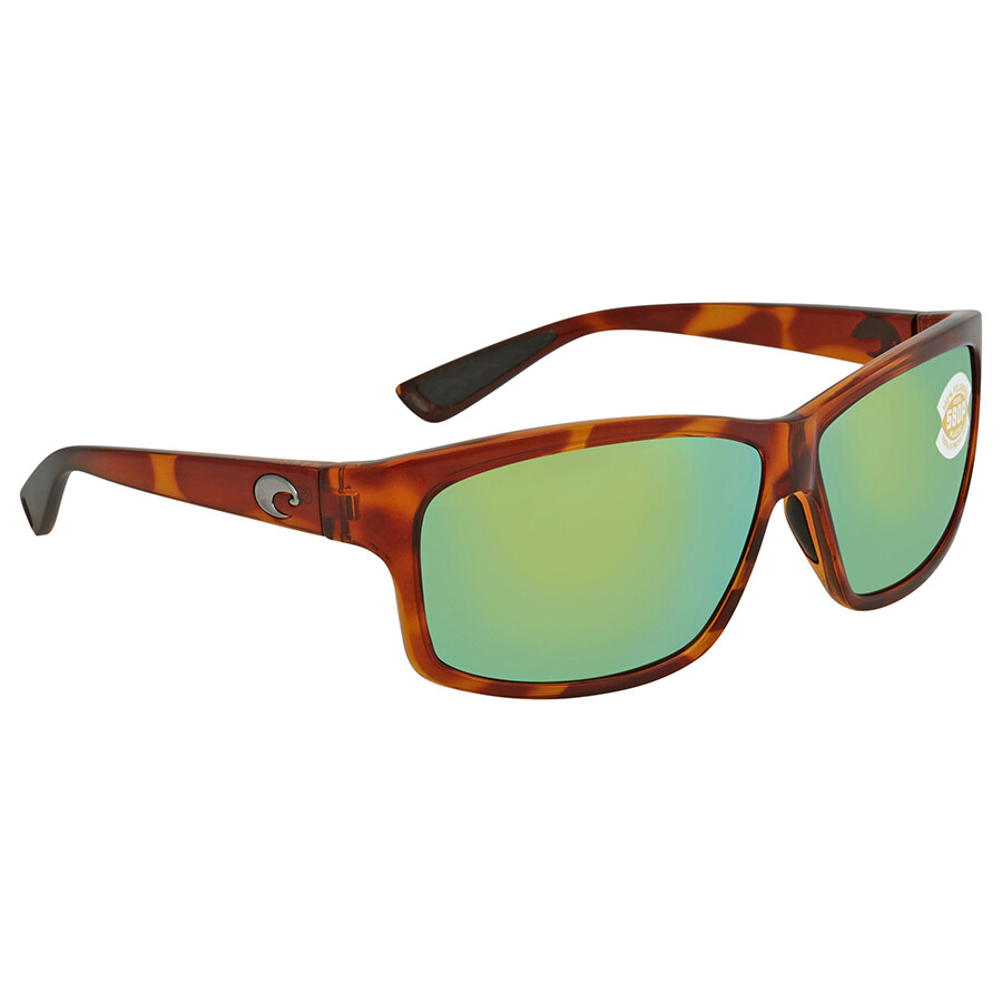 fbd9f00544 Costa Del Mar Cut Green Mirror Rectangular Sunglasses UT 51 OGMP Item No. UT  51 OGMP