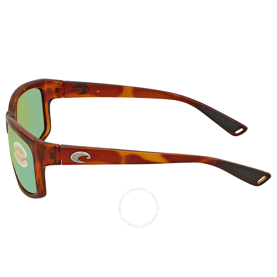 862e37340c Costa Del Mar Cut Green Mirror Rectangular Sunglasses UT 51 OGMP ...