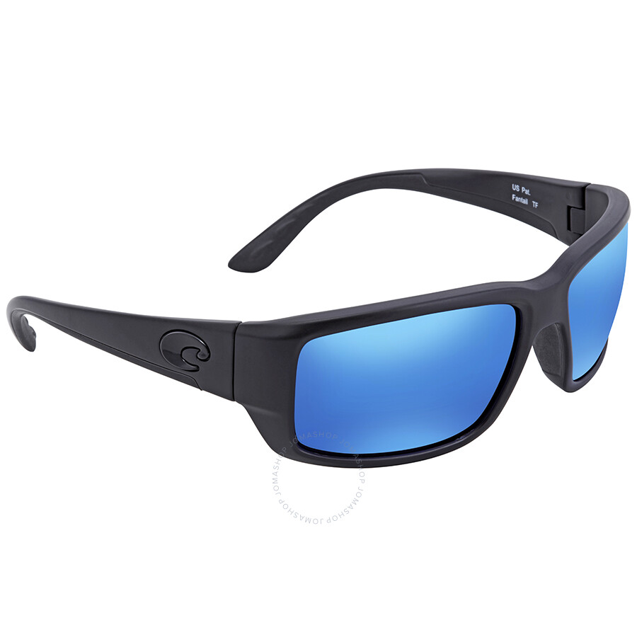 a82d2594d3 Costa Del Mar Fantail Blue Mirror Glass Rectangular Sunglasses TF 01 OBMGLP  Item No. TF 01 OBMGLP