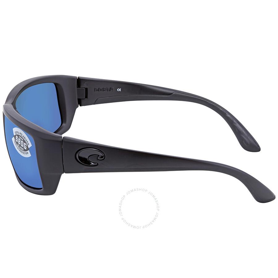 8b765d8f9854 ... Costa Del Mar Fantail Blue Mirror Glass Rectangular Polarized  Sunglasses TF 01 OBMGLP