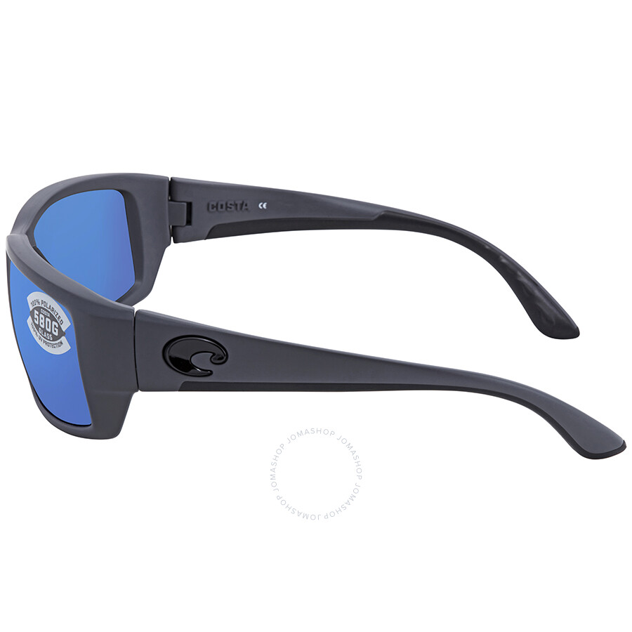 9a5b5b38452 ... Costa Del Mar Fantail Blue Mirror Glass Wrap Sunglasses TF 98 OBMGLP