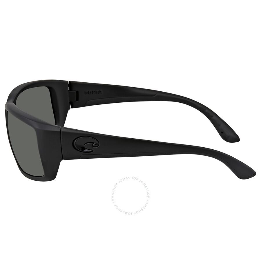 f491b589e87 ... Costa Del Mar Fantail Gray Polarized Glass Rectangular Sunglasses TF 01  OGGLP