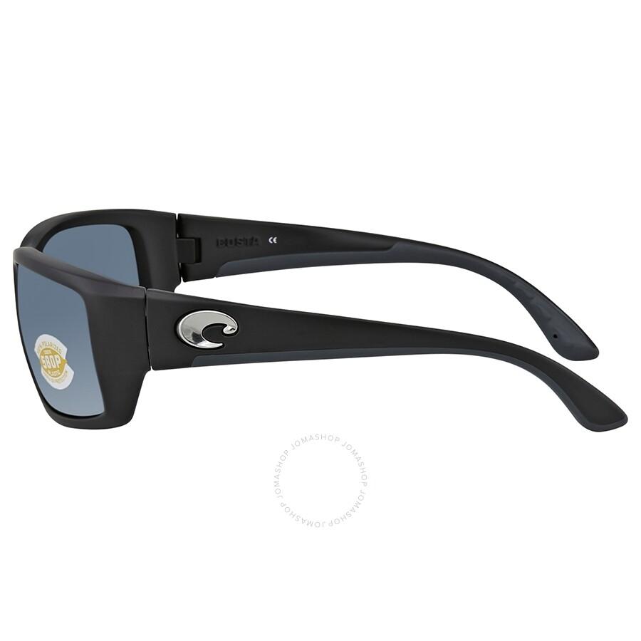 fde79ab720 ... Costa Del Mar Fantail Gray Silver Mirror Polarized Plastic Rectangular  Sunglasses TF 11 OSGP