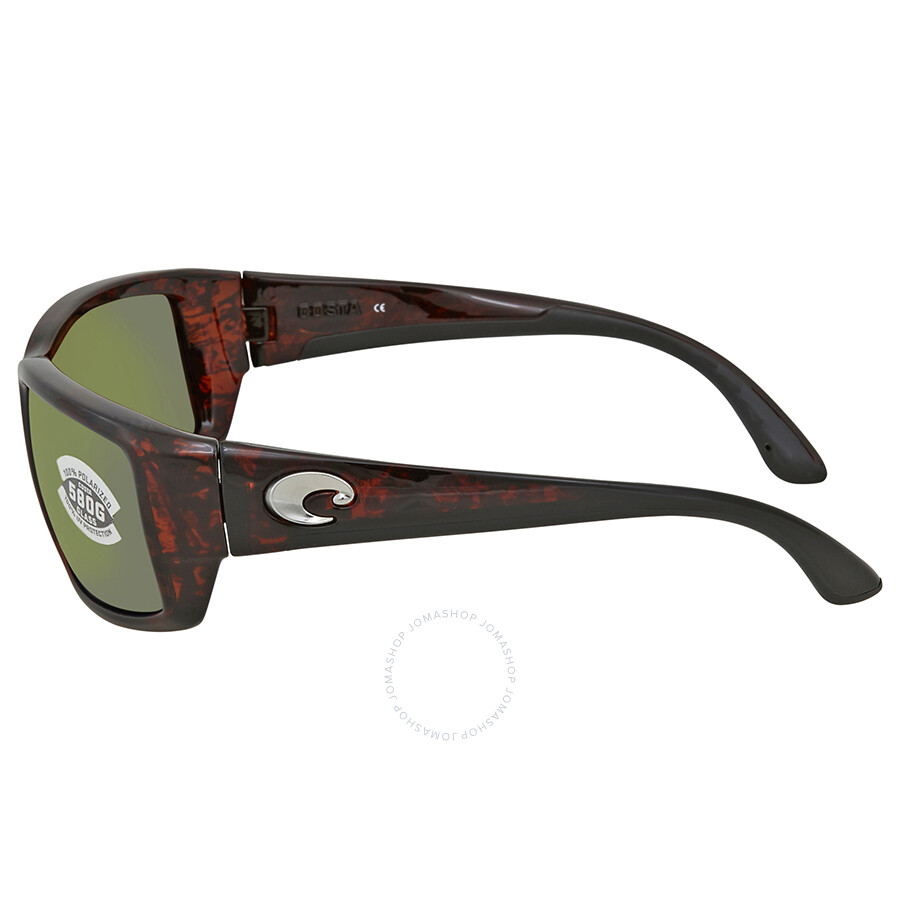 d13d3666f328 ... Costa Del Mar Fantail Green Mirror Glass Rectangular Sunglasses TF 10  OGMGLP
