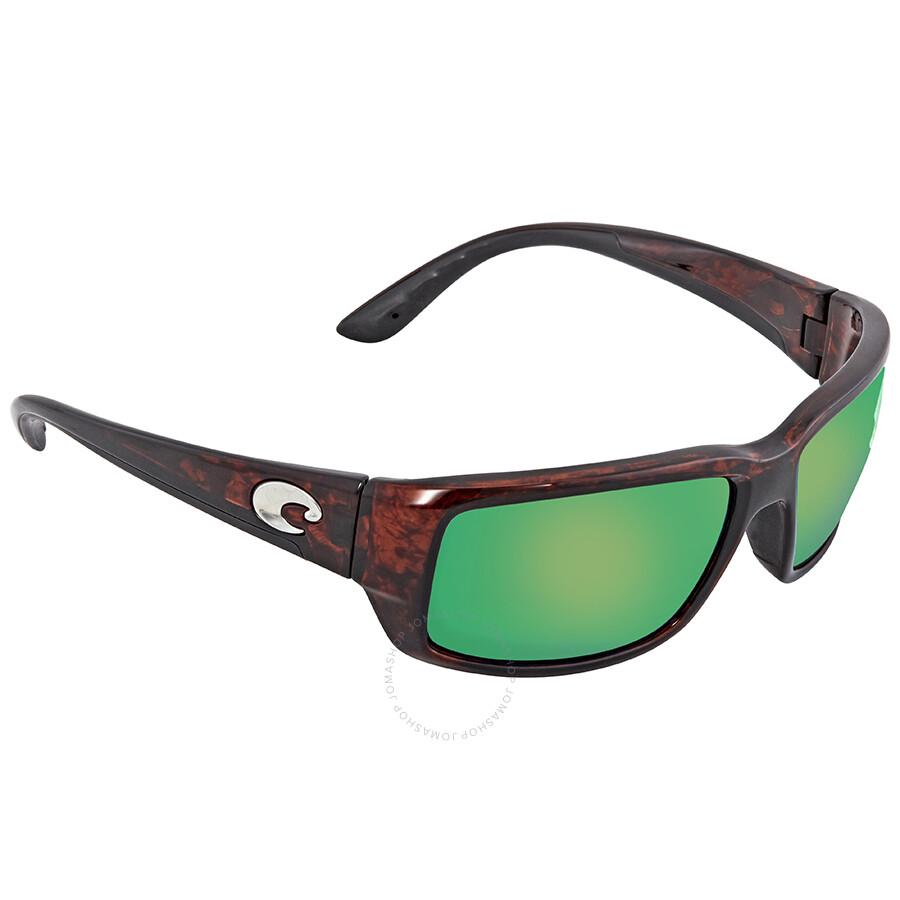 b6c290405f2 Costa Del Mar Fantail Green Mirror Polarized Medium Fit Sunglasses TF 10  OGMP ...