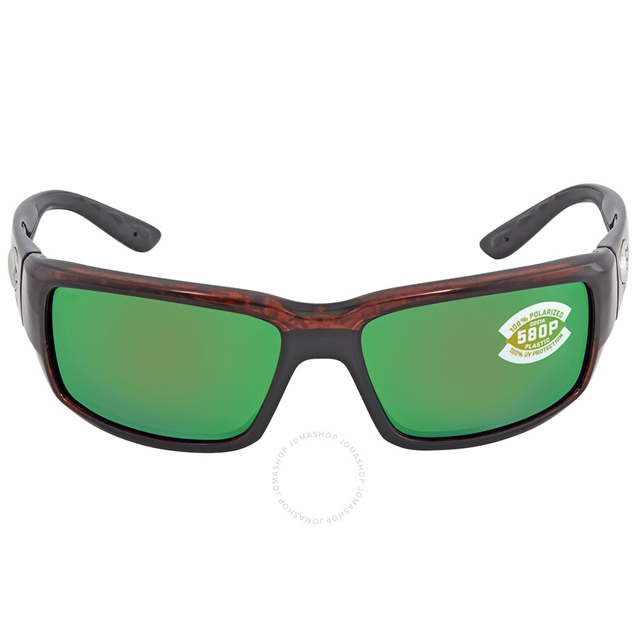 8018fa598947 ... Costa Del Mar Fantail Green Mirror Polarized Medium Fit Sunglasses TF 10  OGMP ...