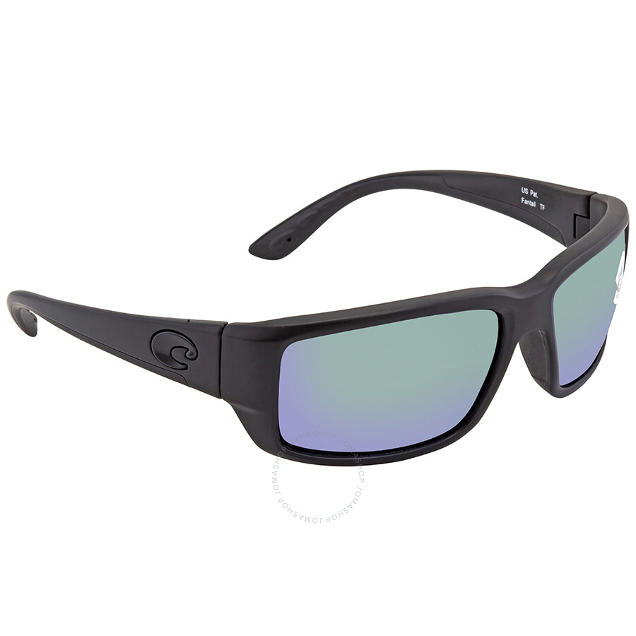 454af50213 Costa Del Mar Fantail Medium Fit Green Mirror Glass Rectangular Sunglasses  TF 01 OGMGLP Item No. TF 01 OGMGLP