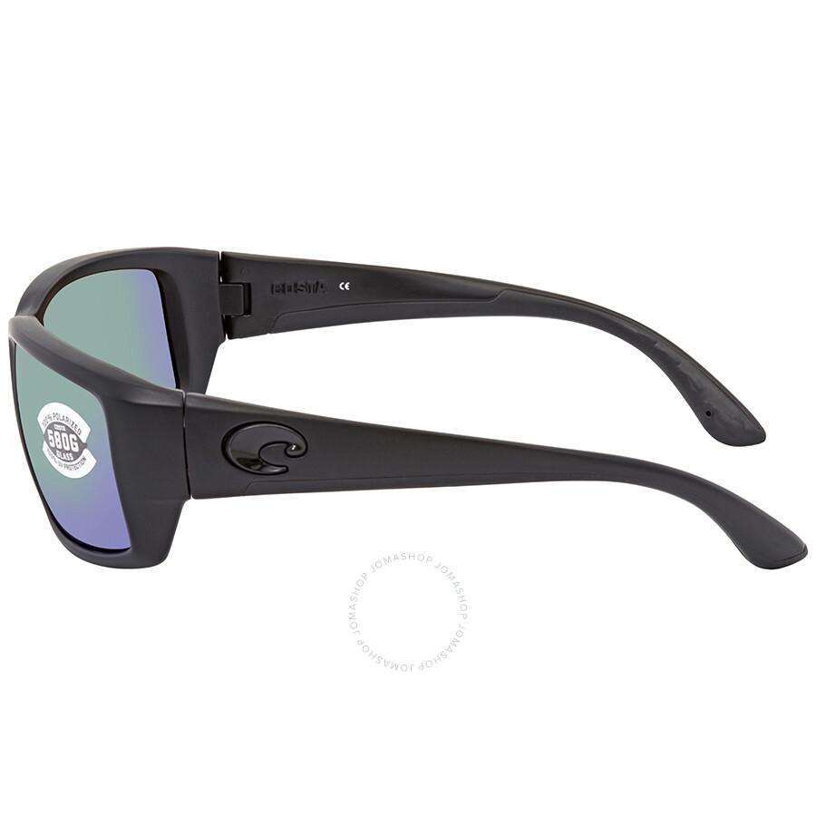 55a35d5dad14 ... Costa Del Mar Fantail Medium Fit Green Mirror Glass Rectangular  Polarized Sunglasses TF 01 OGMGLP