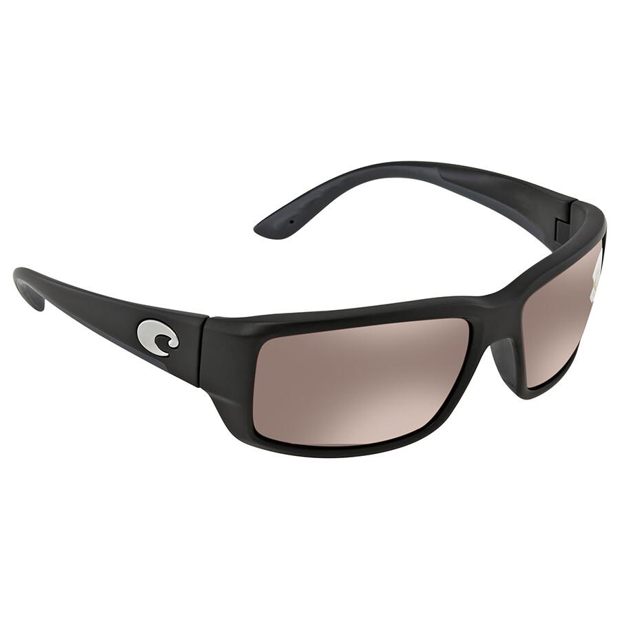 82cb712d86 Costa Del Mar Fantail Polarized Copper Silver Mirror Medium Fit Sunglasses  TF 11 OSCP ...