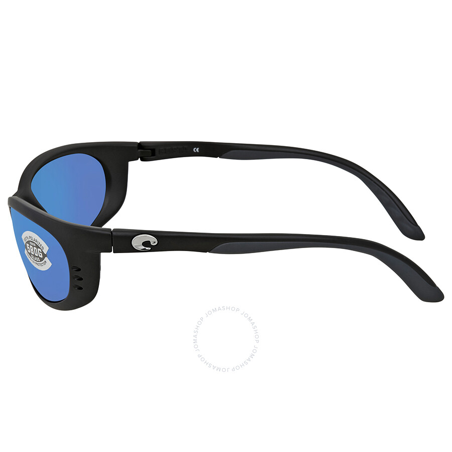 1d3d4eab89355 Costa Del Mar Fathom Blue Mirror Wrap Sunglasses FA 11 OBMGLP ...