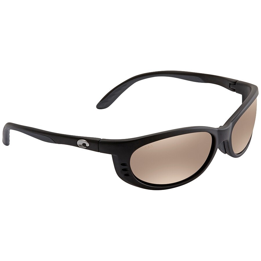 09abb041f111 Costa Del Mar Fathom Global Fit Copper Silver Mirror 580G Wrap Men's  Sunglasses FA 11GF OSCGLP ...