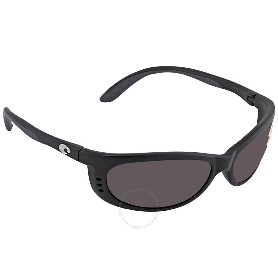 4a2ea01974dfd Costa Del Mar Fathom Gray Polarized Plastic Medium Fit Sunglasses FA 11 OGP  ...