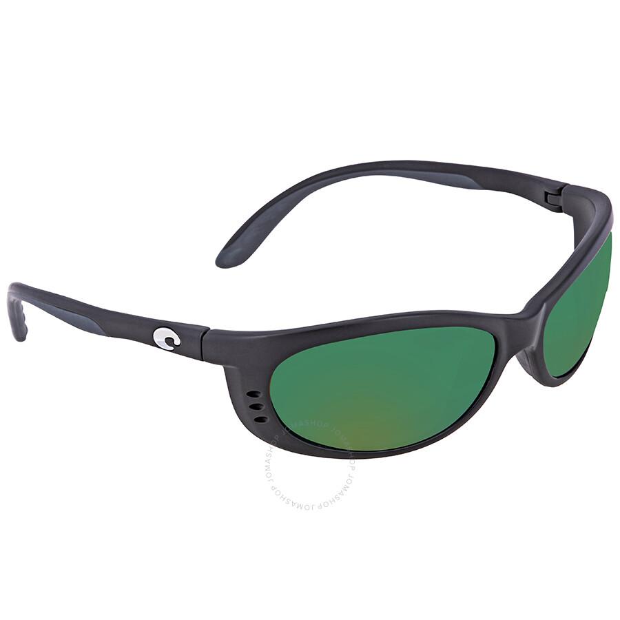 676aa37bc1 Costa Del Mar Fathom Green Mirror Polarized Plastic Medium Fit Sunglasses  FA 11 OGMP ...