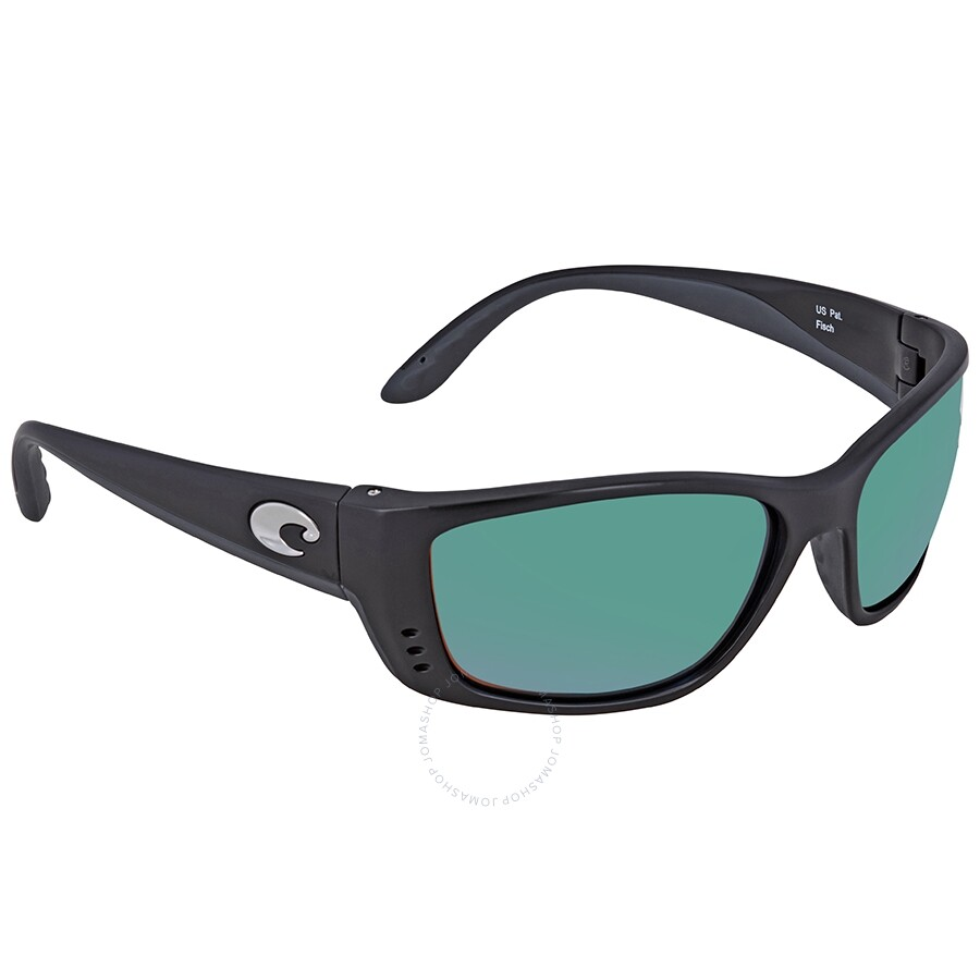c3fe2a370d Costa Del Mar Fisch Polarized Green Mirror Sunglasses Item No. FS 11 OGMGLP