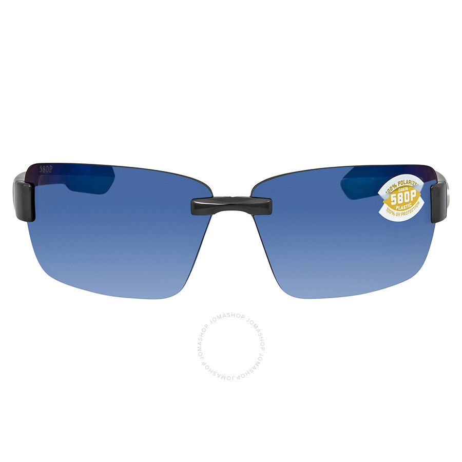 c5f977a585d ... Costa Del Mar Galveston Polarized Blue Mirror Large Fit Sunglasses GV  11 OBMP ...