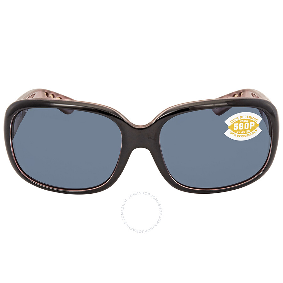 a85c4893c0 ... Costa Del Mar Gannet Gray 580P Rectangular Sunglasses GNT 132 OGP ...