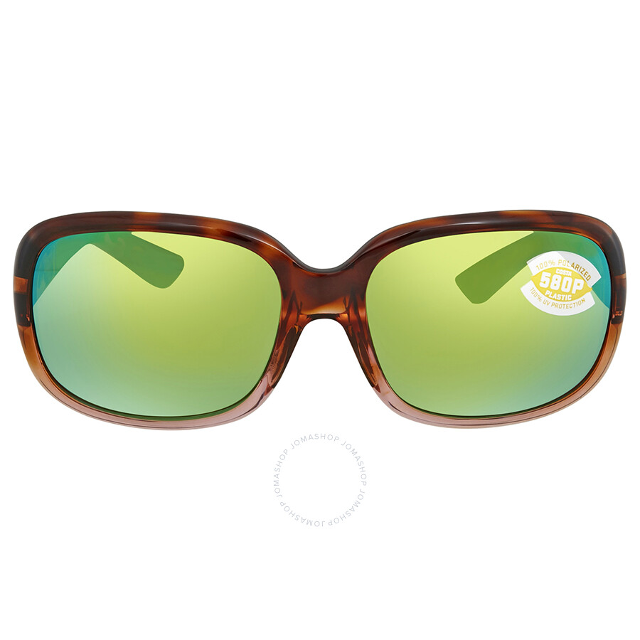 4091470b88 ... Costa Del Mar Green Mirror Polarized Square Sunglasses GNT 120 OGMP ...