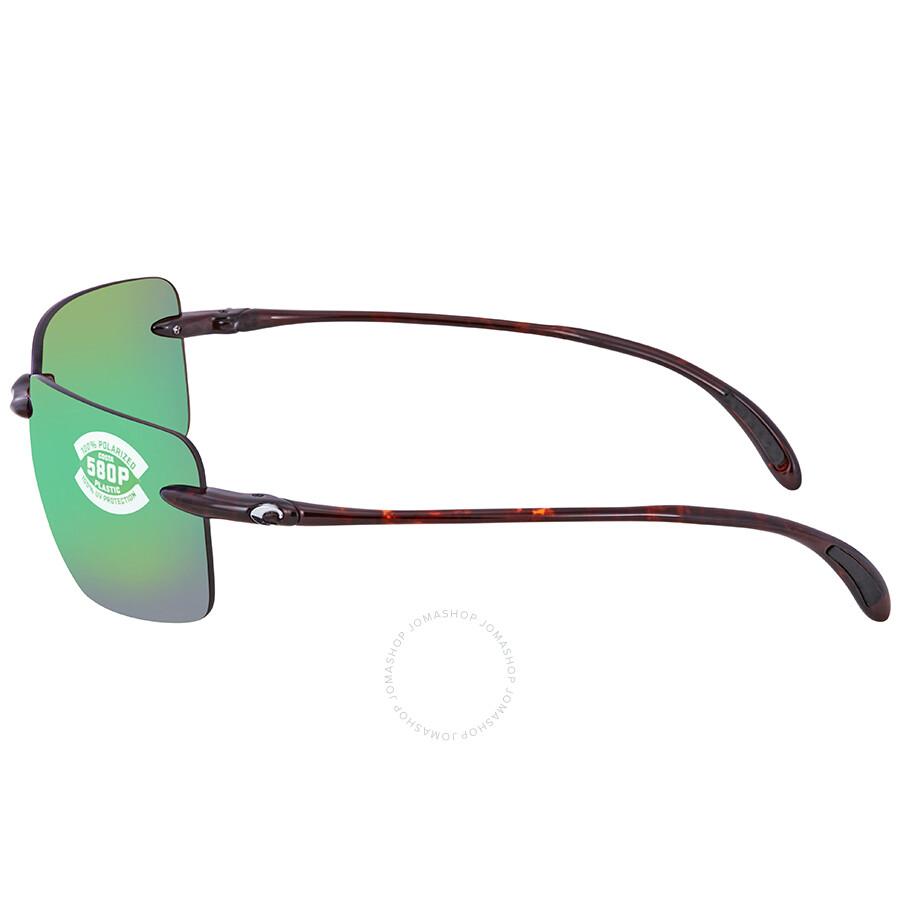 6d3b9655c9 ... Costa Del Mar Gulf Shore Green Mirror Polarized X-Large Fit Sunglasses  GSH 10 OGMP