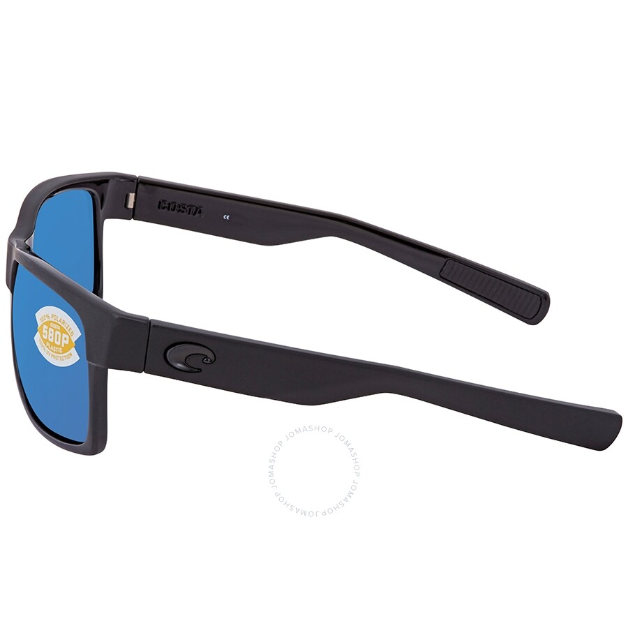 787bebb76392 ... Costa Del Mar Half Moon Blue Mirror 580P Polarized Rectangular Men's  Sunglasses HFM 155 OBMP