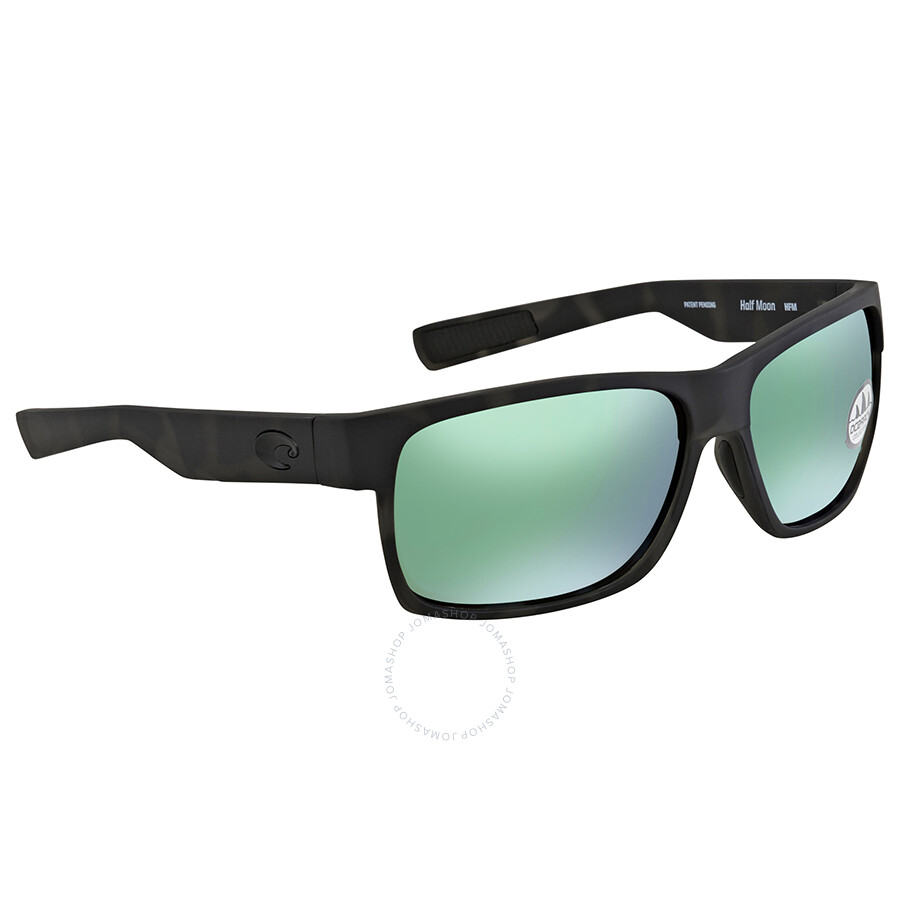 31004870ff5 Costa Del Mar Half Moon Green Mirror 580G Wrap Sunglasses HFM 140OC OGMGLP  Item No. HFM 140OC OGMGLP