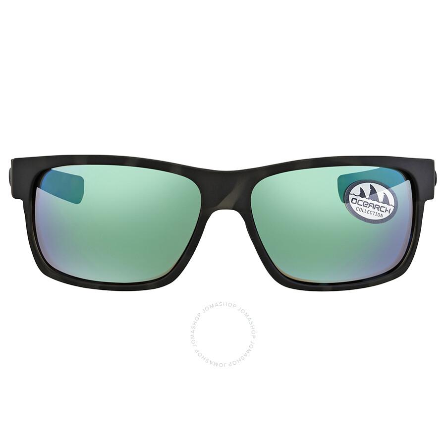 e00678de099c ... Costa Del Mar Half Moon Green Mirror 580G Wrap Sunglasses HFM 140OC  OGMGLP ...