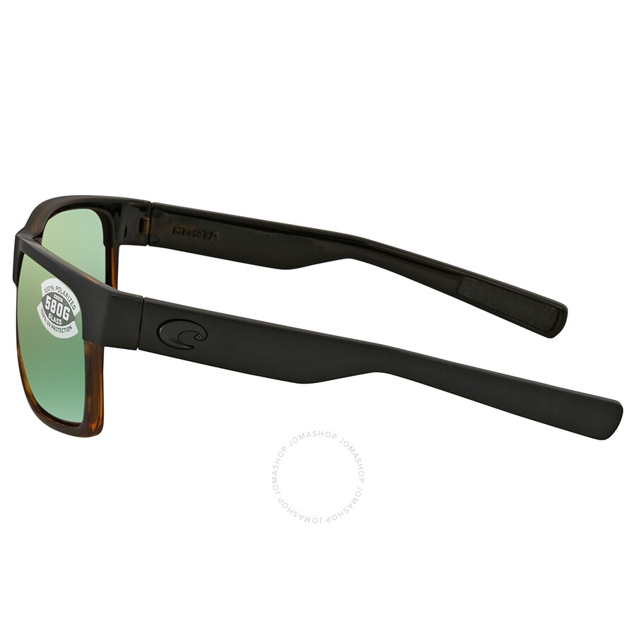 a84547d01b ... Costa Del Mar Half Moon Green Mirror Polarized Glass Large Fit  Sunglasses HFM 181 OGMGLP