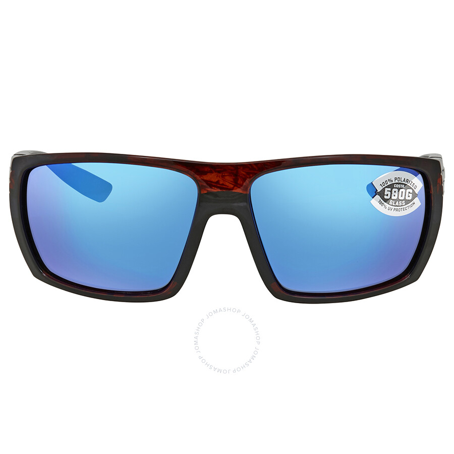 cd32b03fc1 ... Costa Del Mar Hamlin Blue Mirror Rectangular Sunglasses HL 10 OBMGLP ...
