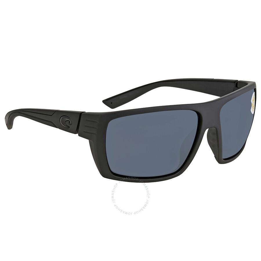 d41e858c7de Costa Del Mar Hamlin Gray 580P Rectangular Sunglasses HL 01 OGP Item No. HL  01 OGP