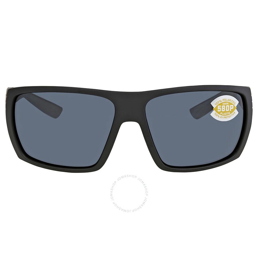 b1a005a4365a5 ... Costa Del Mar Hamlin Gray 580P Rectangular Sunglasses HL 01 OGP ...