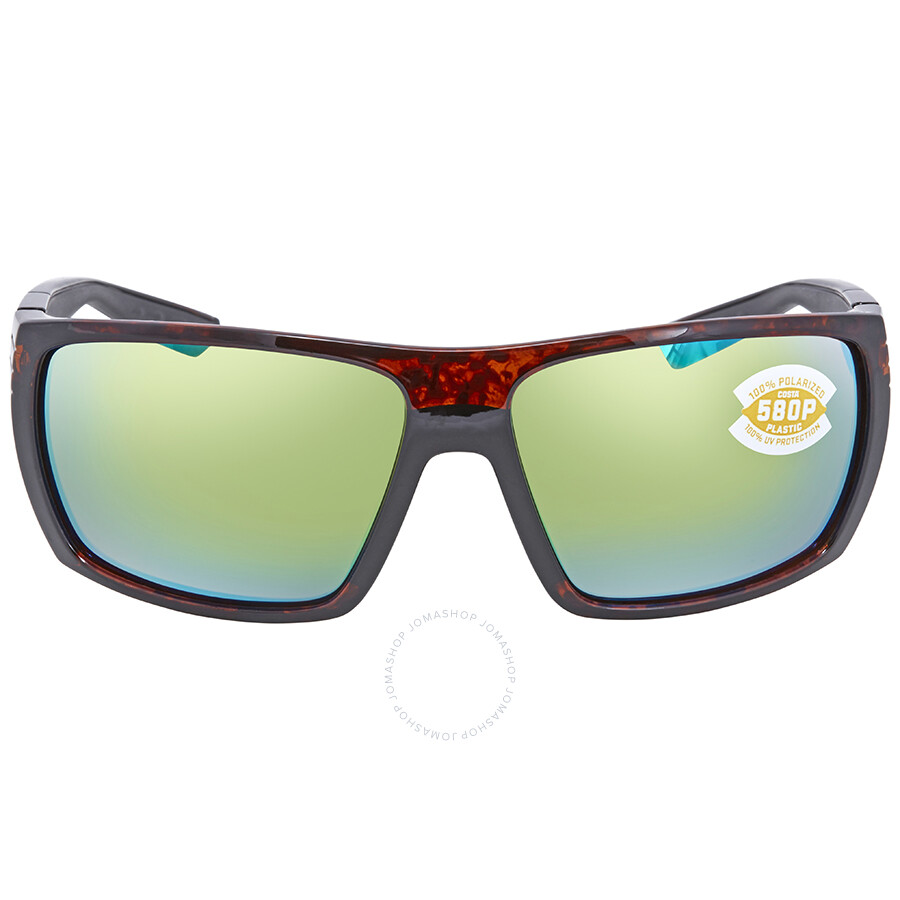 bdd7d6b05c ... Costa Del Mar Hamlin Green Mirror 580P Polarized Wrap Sunglasses HL 10  OGMP ...
