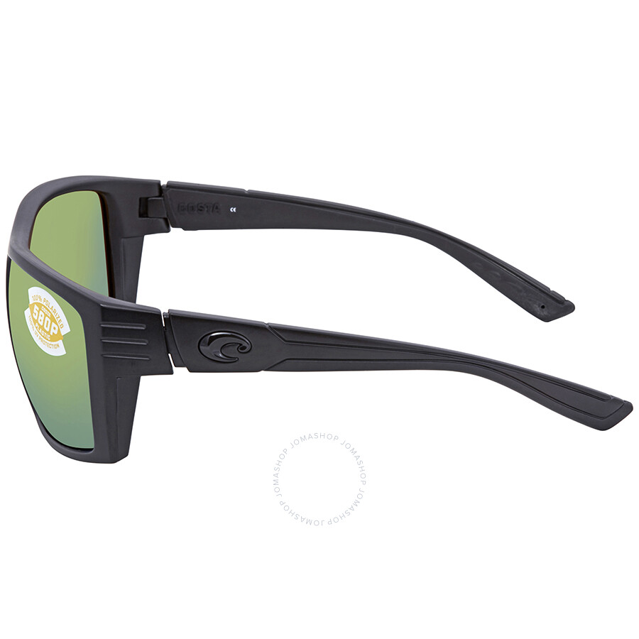 40ff3ca772 ... Costa Del Mar Hamlin Green Mirror 580P Rectangular Sunglasses HL 01 OGMP