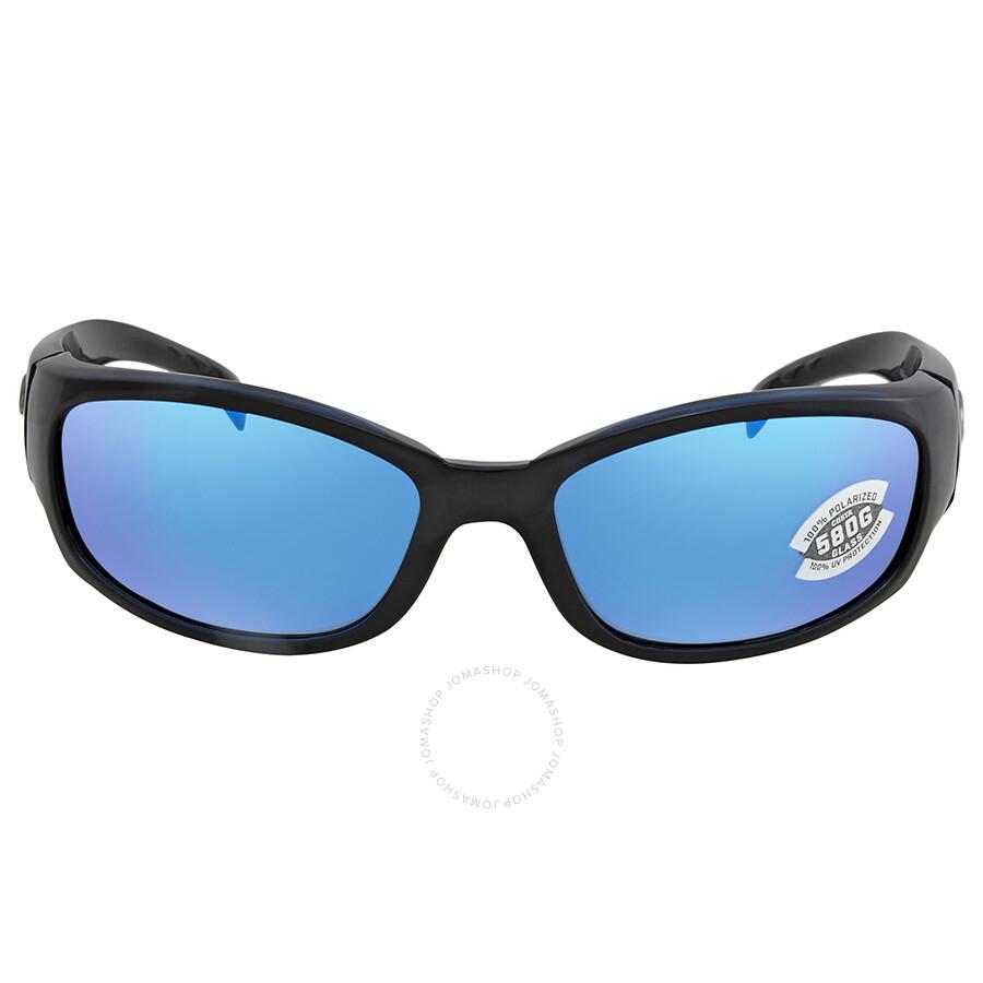 03951591bac ... Costa Del Mar Hammerhead Blue Mirror 580G Wrap Sunglasses HH 11 OBMGLP  ...