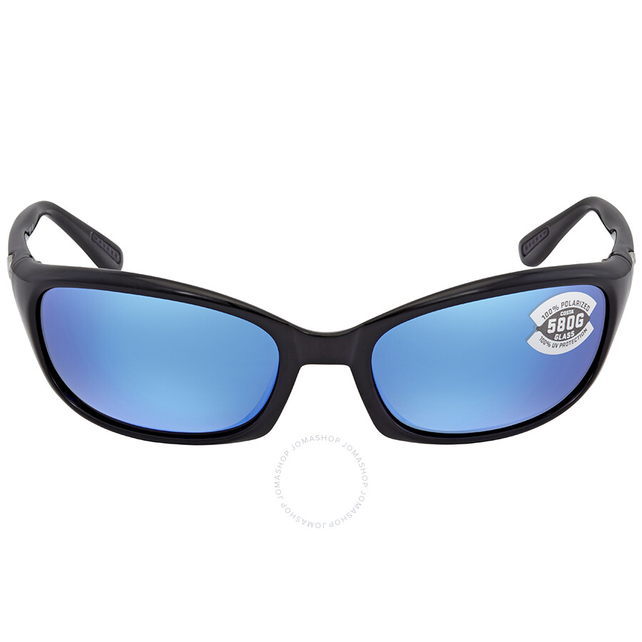 522343025384 ... Costa Del Mar Harpoon Blue Mirror 580G Polarized Wrap Sunglasses HR 11  OBMGLP ...