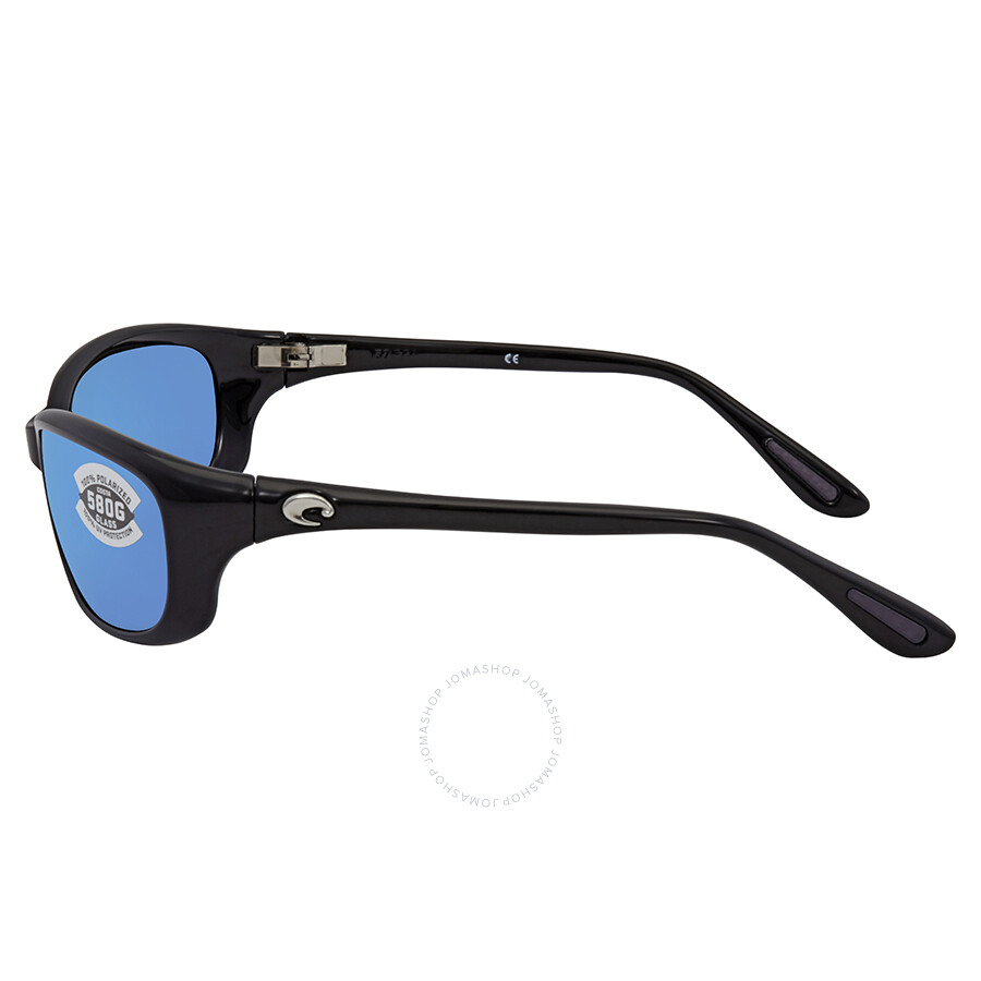 618b9c92db ... Costa Del Mar Harpoon Blue Mirror 580G Polarized Wrap Sunglasses HR 11  OBMGLP